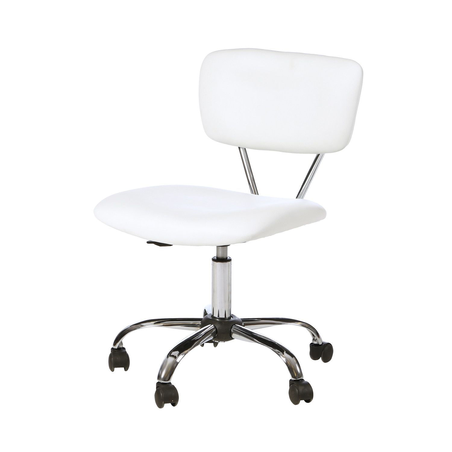 Miraculous Zipcode Design Adjustable Mid Back Sleek White Office Chair Inzonedesignstudio Interior Chair Design Inzonedesignstudiocom