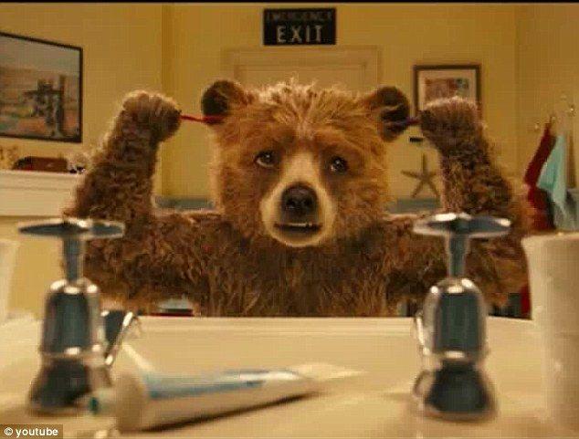 The iconic Paddington Bear comes to life in a new film trailer | Paddington bear, Bear wallpaper ...