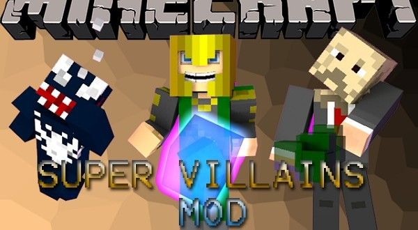 Super Villains Mod 1 6 4 Super Villains Minecraft Minecraft 1