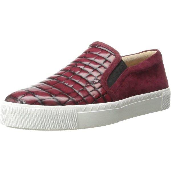 Via Spiga Women's Maliah Fashion Sneaker ($117) ❤ liked on Polyvore featuring shoes, sneakers, via spiga and via spiga shoes