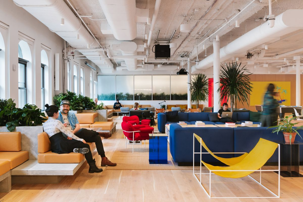 How Much Wework Is Too Much Wework Coworking Space Coworking Office Moving