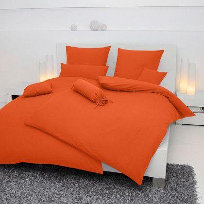 Delightful #beds #bedlinen Janine Mako Soft Seersucker Bettwäsche Piano Orange 135x200  Cm + Amazing Design