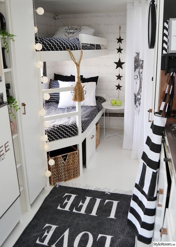 Such a cool kids bedroom | Awesome Kids Rooms | Pinterest | Van life ...