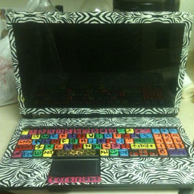 Diy Laptop Decoration Diy Laptop Laptop Decoration Diy Crafts
