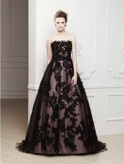 Yahoo images black wedding dress