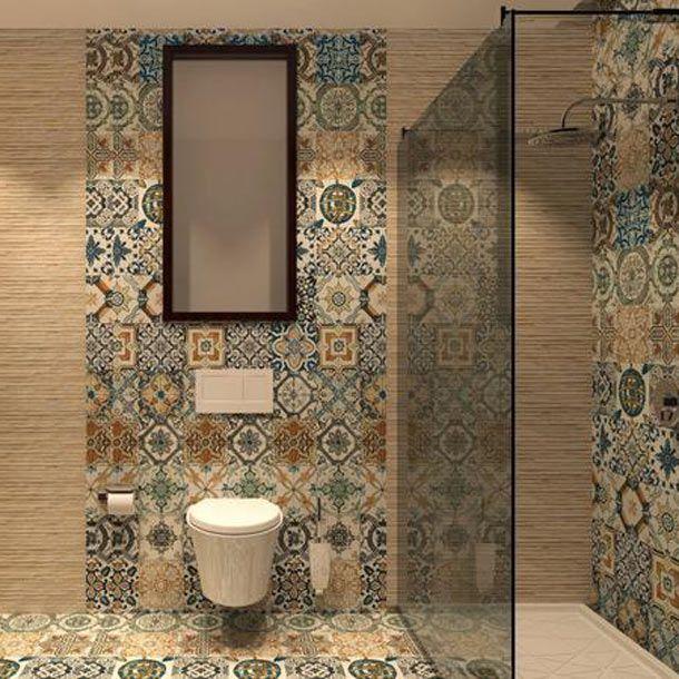 20x20cm Nikea mix pattern tile set | Pinterest | Porcelain tile ...