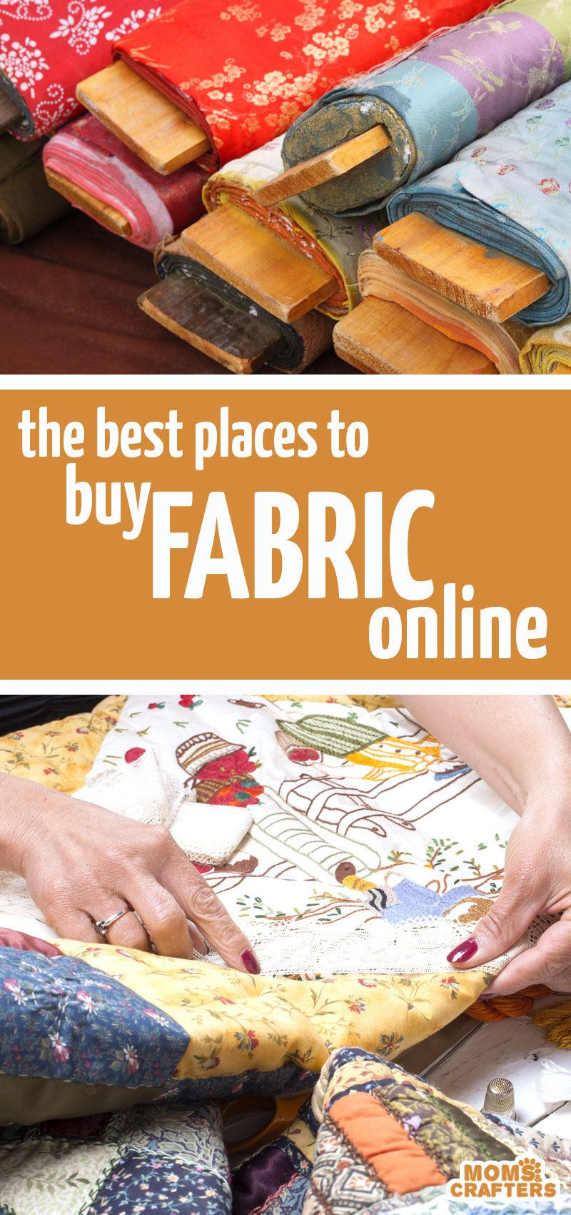The ultimate list of the best place to buy fabrics online for every need!