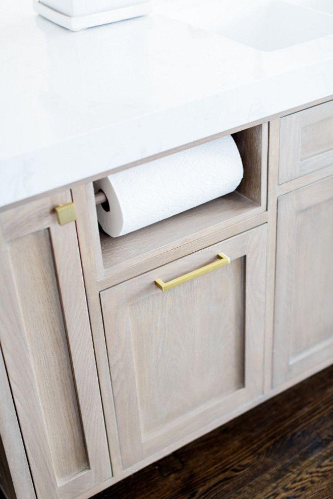 Built In Paper Towel Holder Kitchen Island Cabinet With Built In Paper Towel Paper Towel