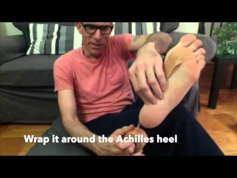how to get rid of plantar fasciitis scar tissue