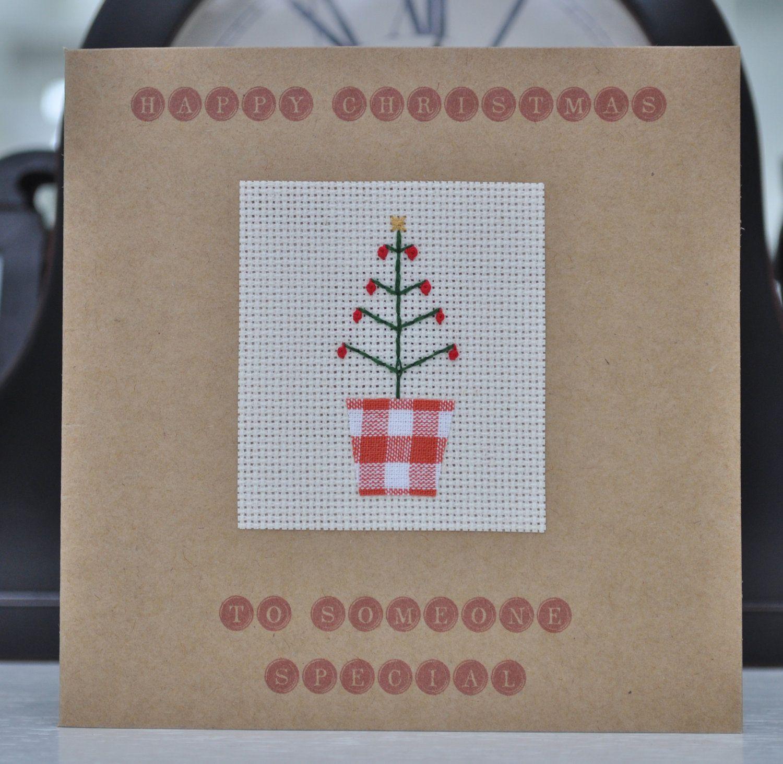 Handmade Christmas Card  Someone Special $600, Via Etsy