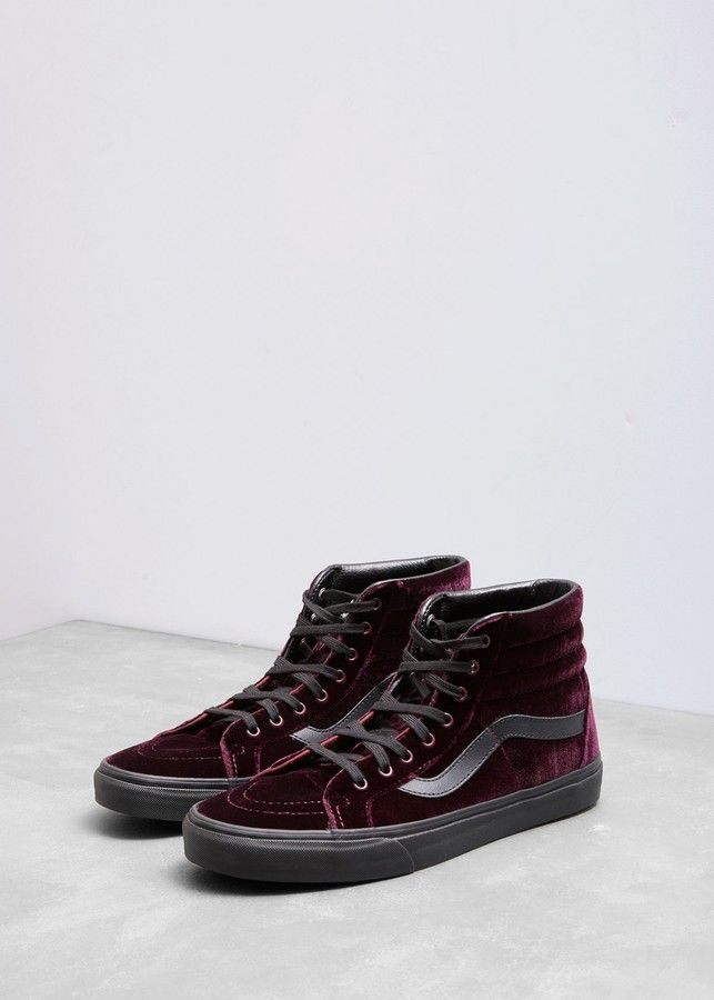 bd4314cd69 Vans Velvet Sk8-Hi Reissue Sneakers  affiliate