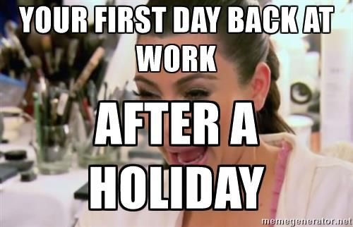 Kim Kardashian Crying Your First Day Back At Work After A Holiday Jpg 500 322 Kim Kardashian Cry Back To Work Day