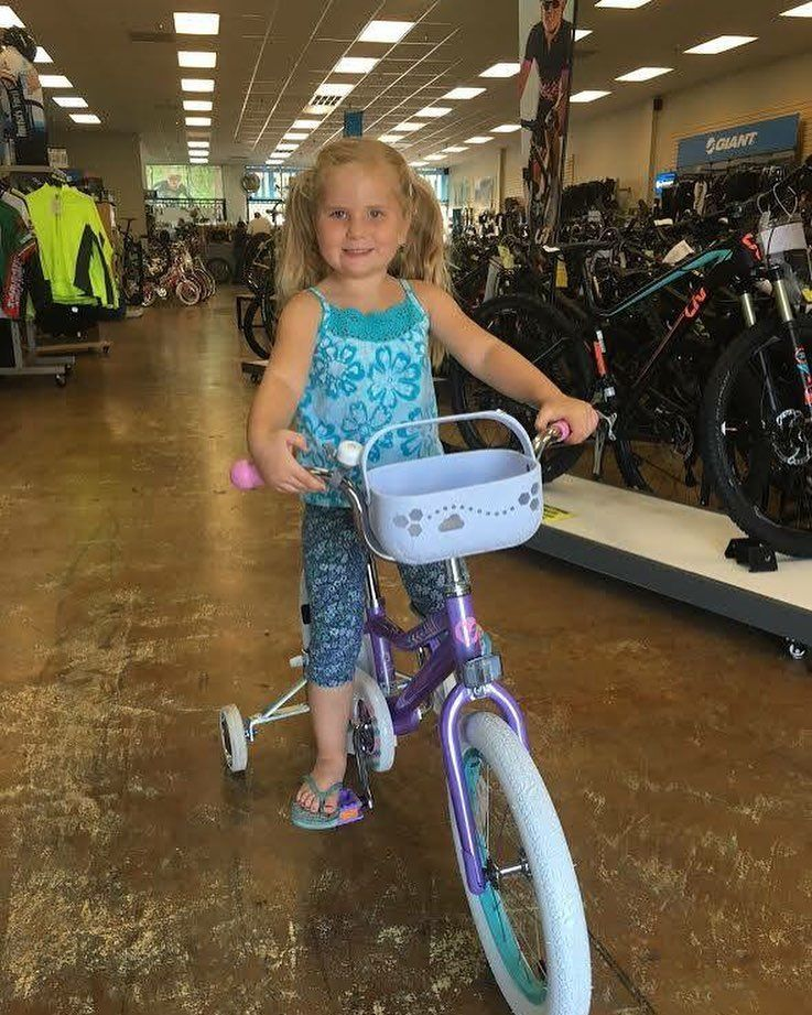Look who's turning 5 yrs old Miss Emily!!! She got a new bike for her birthday. We love seeing kids riding bikes - Happy Birthday Emily #sandiego #temecula #fun #bicycle #Fitness