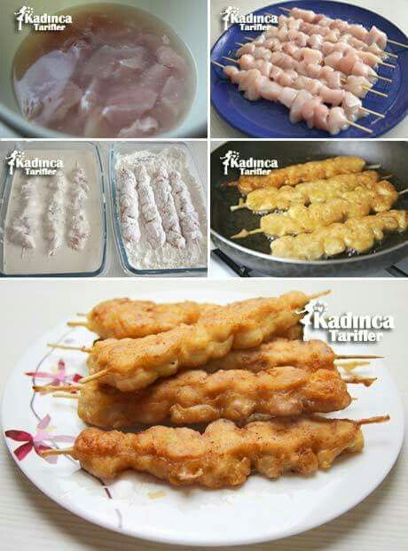 Pin de hafida rouhi en Pollo  Comida Cocina turca y Cocteles dulces