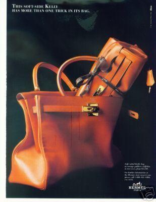 Hermes Bag Advertisement