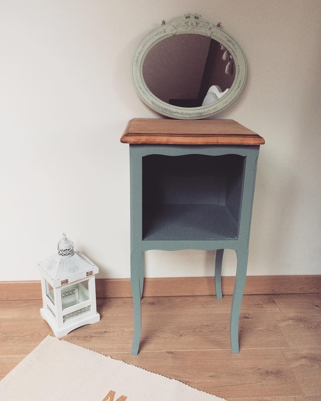 Ouceur Et Simplicité Avec Cette Table De Chevet Relookée Par