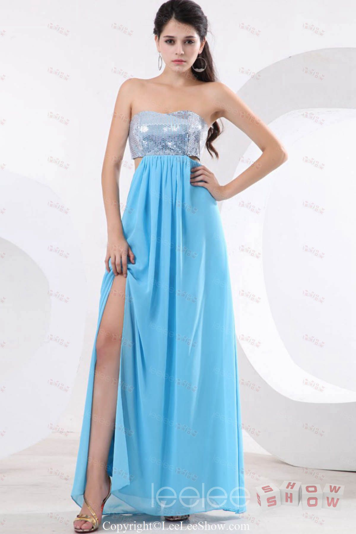 High Quality Chiffon Long Prom Gowns