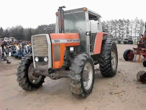 Used Massey Ferguson 3525 tractor parts - side photo EQ