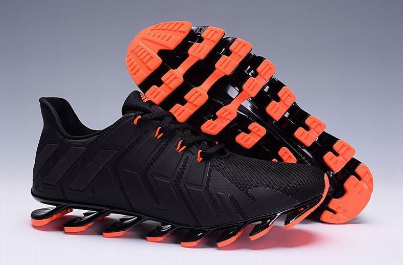uk availability e0d14 147df ... On Feet Mens Adidas Springblade Pro Black Orange Trainers ...