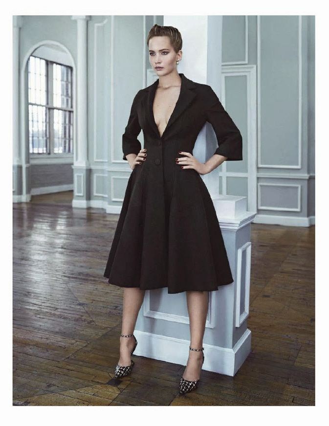 Jennifer Lawrence by Emma Summerton