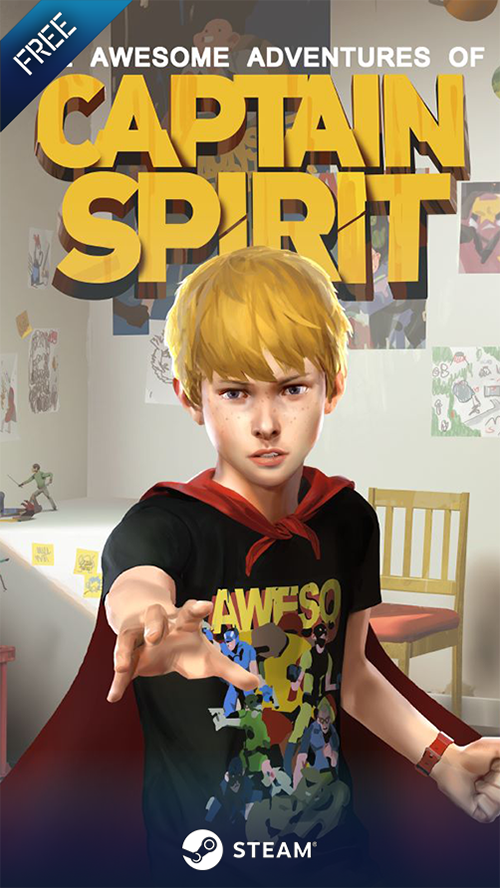 Juego Gratis: The Awesome Adventures of Captain Spirit #STEAM #FREE #GAME