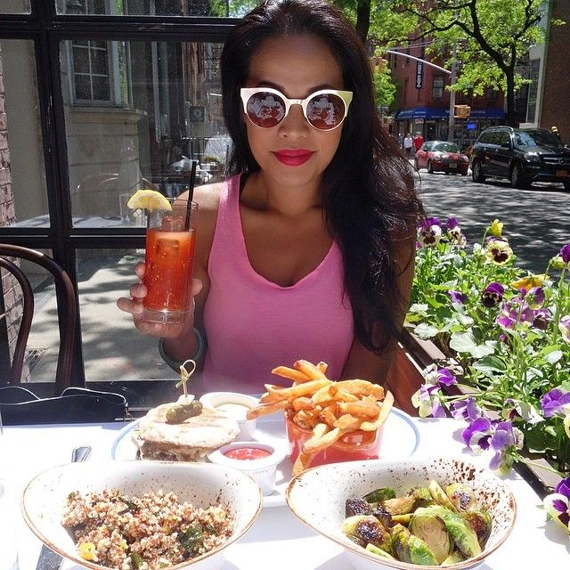 Brunch In Soho On This Gorgeous Saturday In Nyc! #happy