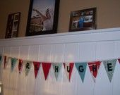 Baby Shower Banner Fabric It's A girl Baby Announcement Banner Flag Pennant Bunting Washable Resuable