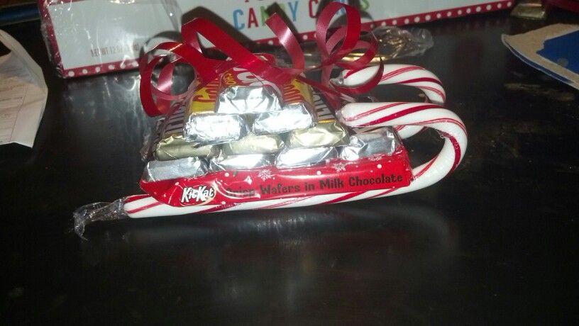Crafty Candy Sled...