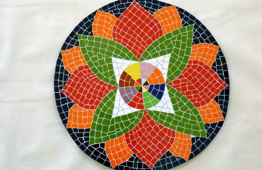 mosaicos para mesas redondos - Pesquisa Google