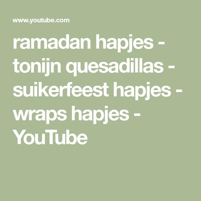 ramadan hapjes - tonijn quesadillas - suikerfeest hapjes - wraps hapjes #wrapshapjes
