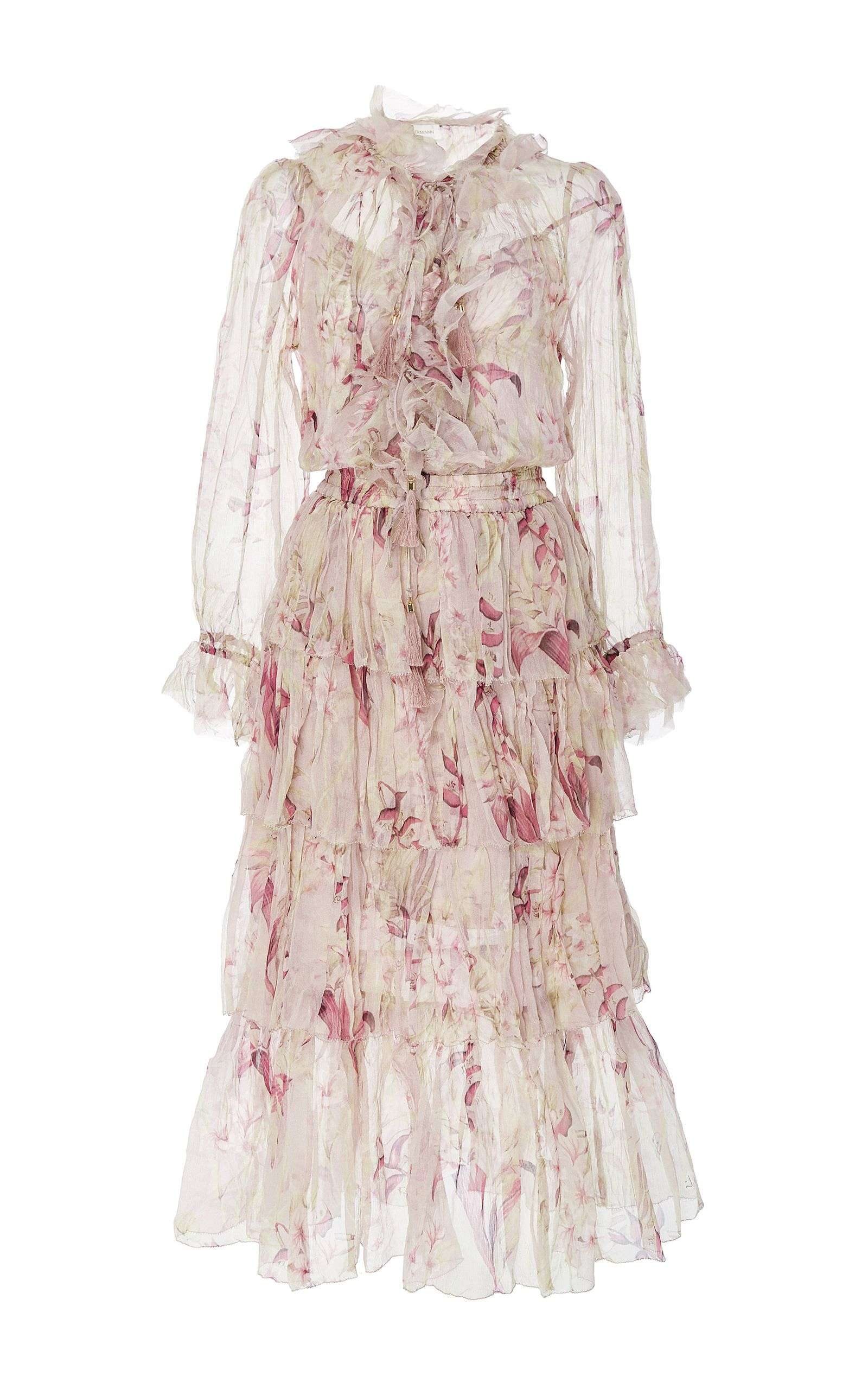 f2061dcab84c ZIMMERMANN Winsome Ruffled Midi Dress.  zimmermann  cloth  dress ...