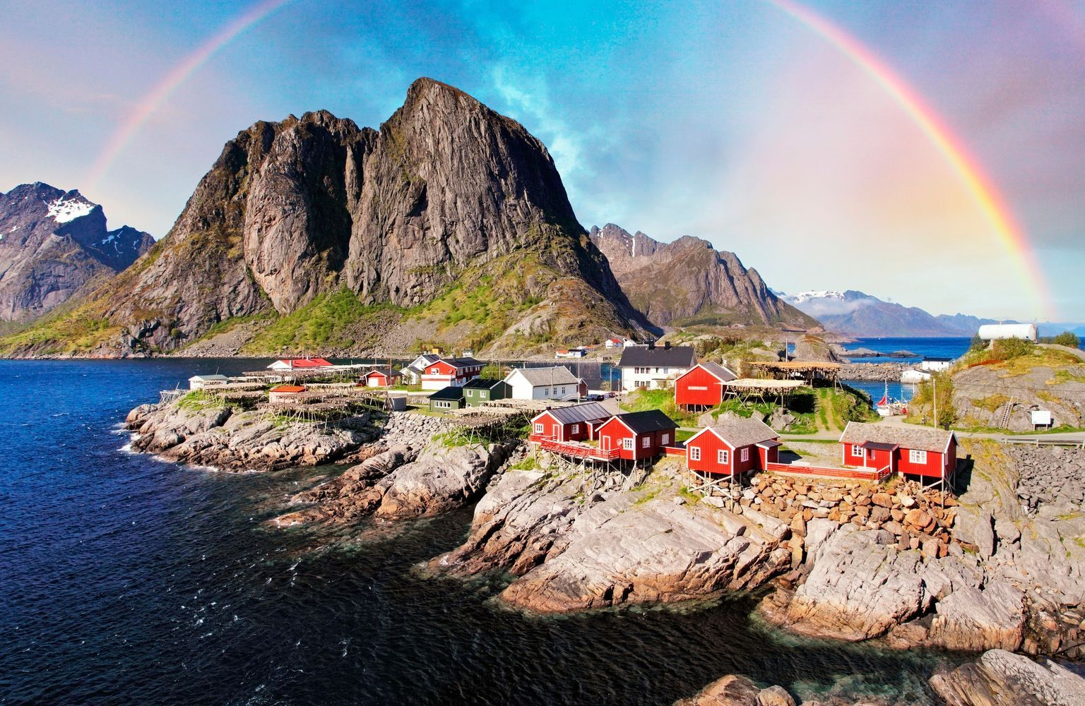 Reine, Norway: If the ends of the earth features heavily on your travel wishlist, this village, set above the Arctic Circle on the island of Moskenesøya in Norway's Lofoten archipelago, might just be your version of heaven.
