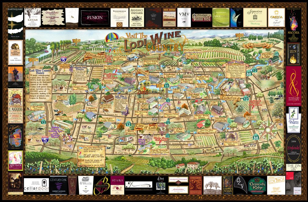 Image Result For Livermore Wineries Map
