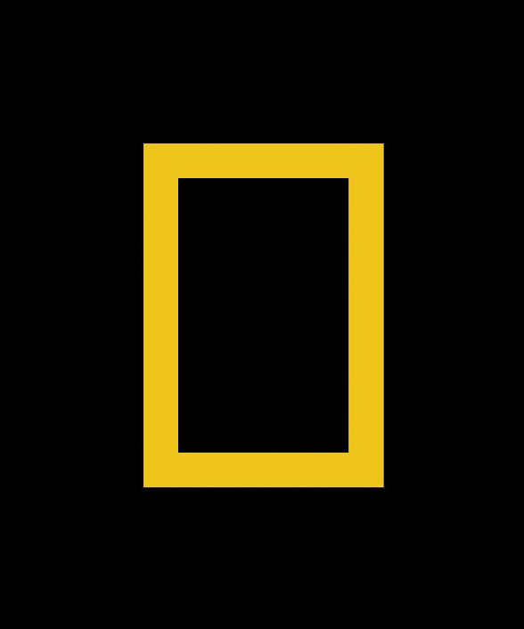 just realized the national geographic logo is just a rectangle