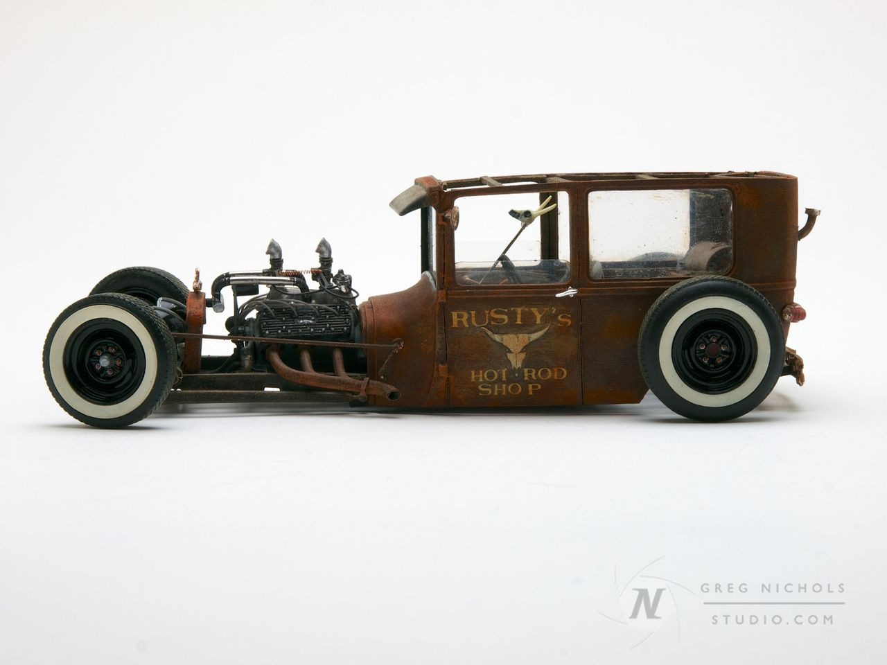 scale models of rat Rods | Car & Truck Scale Models | Model