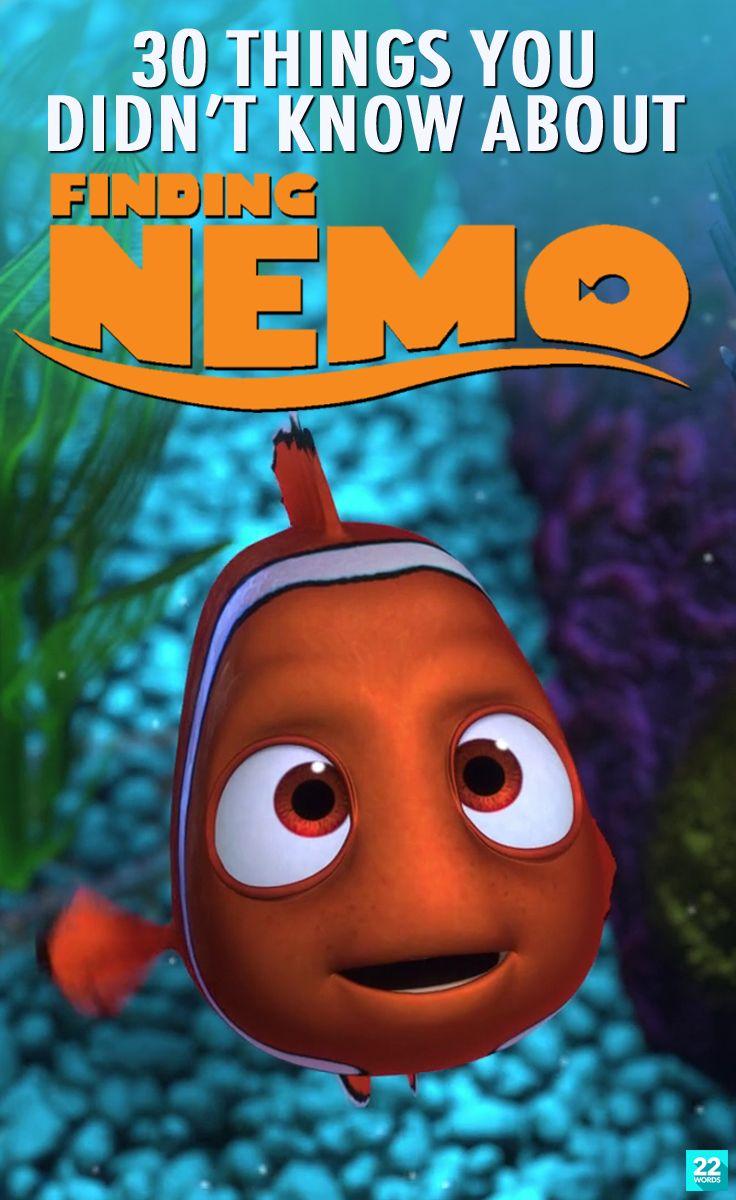22 Words Disney finding nemo, Disney funny, Disney facts