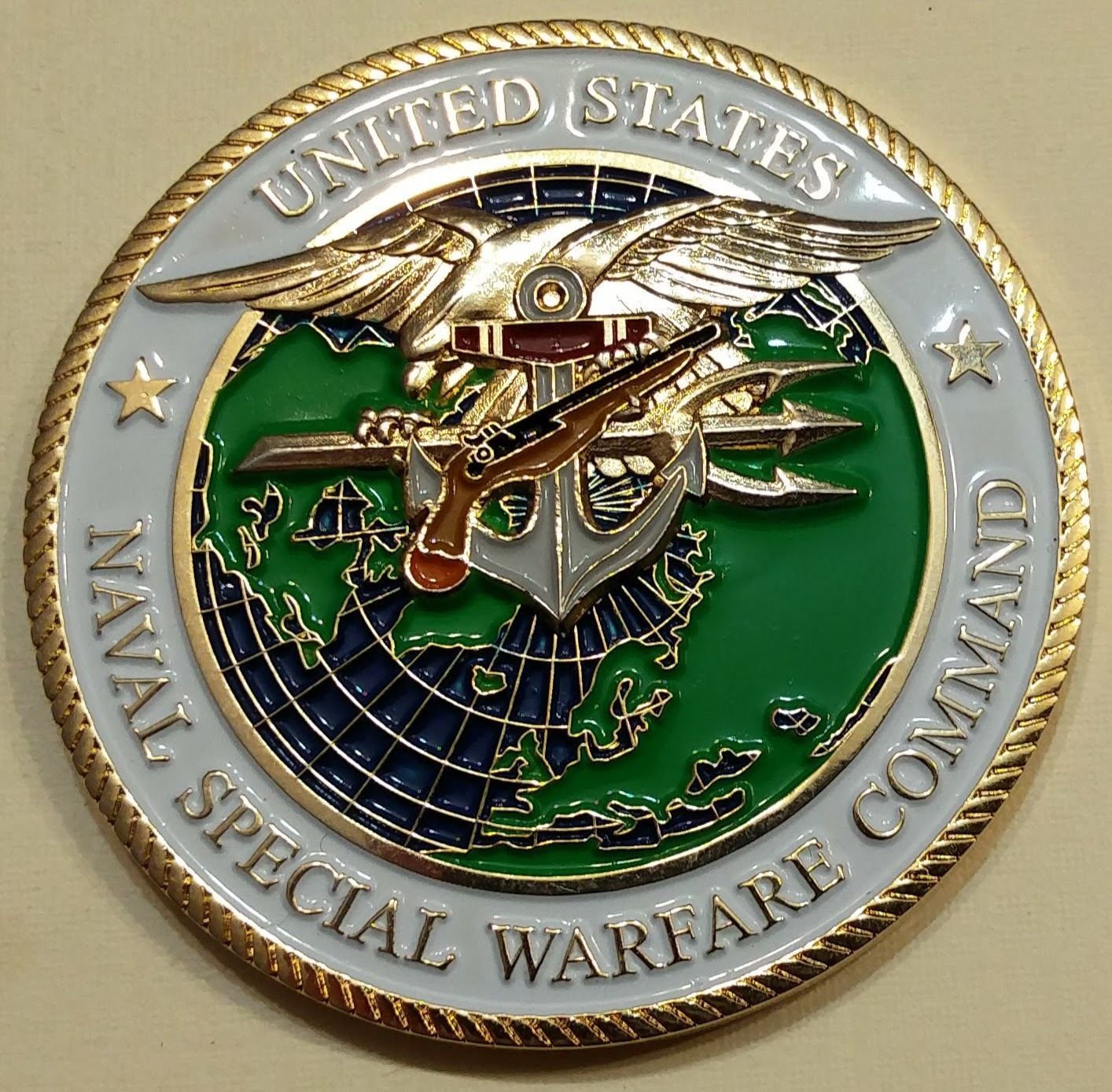 Naval Special Warfare Command A Common Man Seals Navy