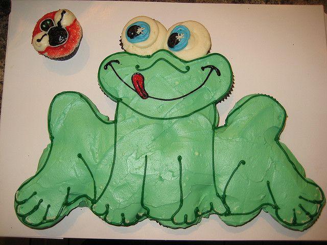 Pull Apart Cupcake Cake With Images Pull Apart Cupcake Cake