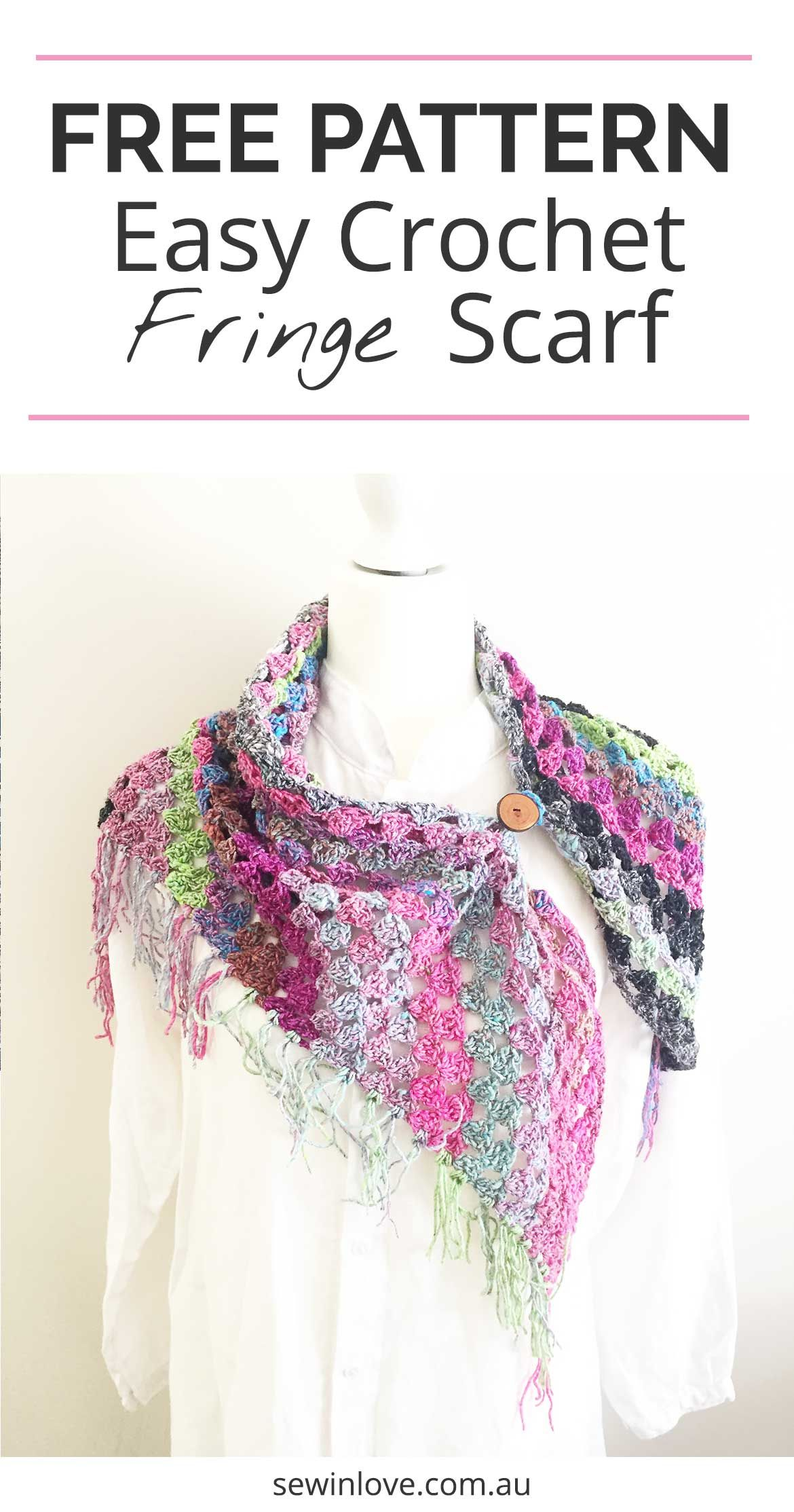 How to Crochet a Noro Scarf: Free + Easy Pattern with Video | Free ...