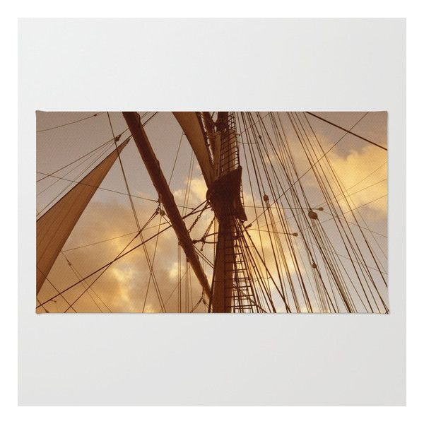 Sails At Dusk Rug (€25) ❤ liked on Polyvore featuring home, rugs, chevron rugs, zig zag rugs, non skid rugs, chevron area rug and woven area rugs