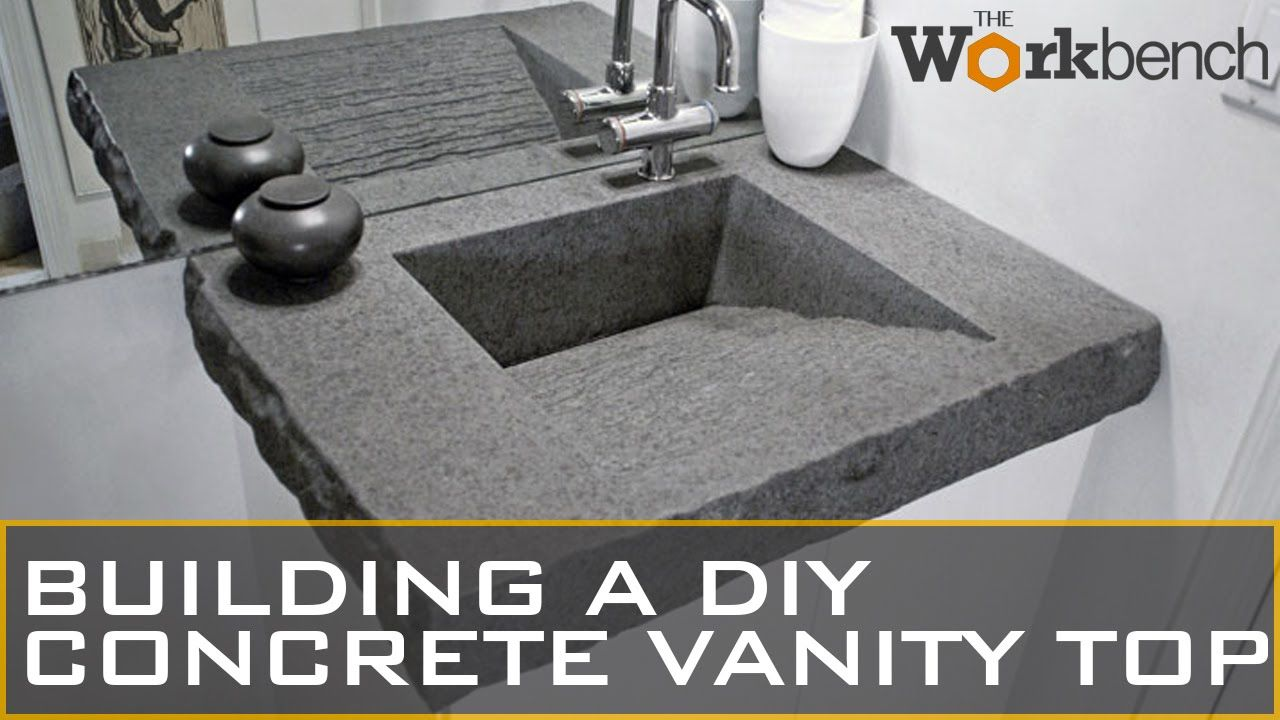 Diy Concrete Sink Part 1 Of 2 Https Www Youtube Com Watch V