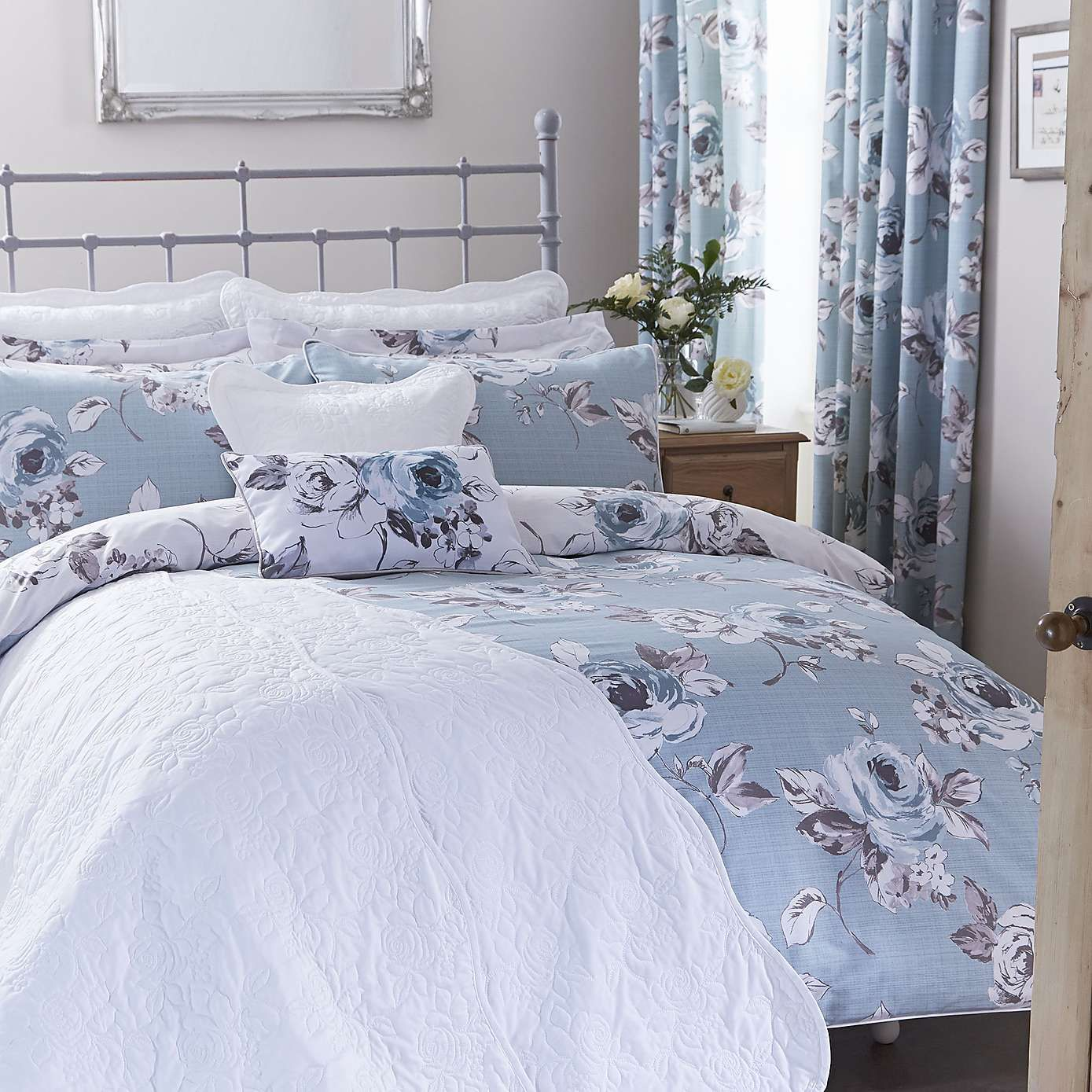 Pretty Bed Covers Pretty Vintage Duck Egg Bed Linen Collection Dunelm