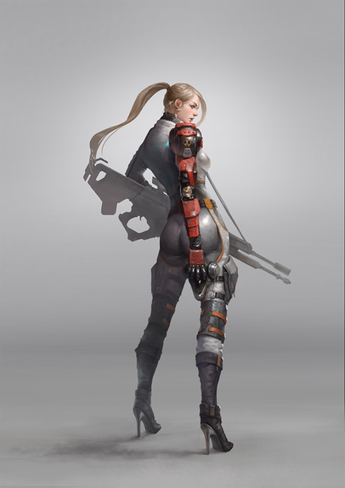 Pin by Xu Anderson on 角色立繪參考圖 Character design girl