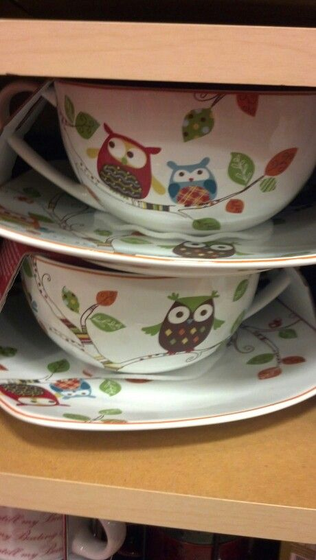 Cute Owl dishes & Cute Owl dishes | Owl my love | Pinterest | Owl Dishes and Owl kitchen