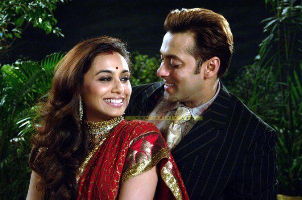Salman Khan & Rani Mukherjee