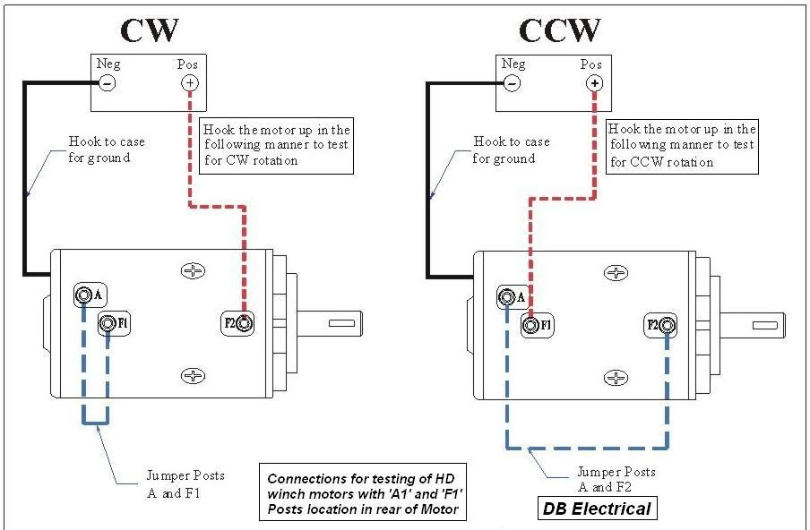 Winch Motor Wiring Diagram For Generator