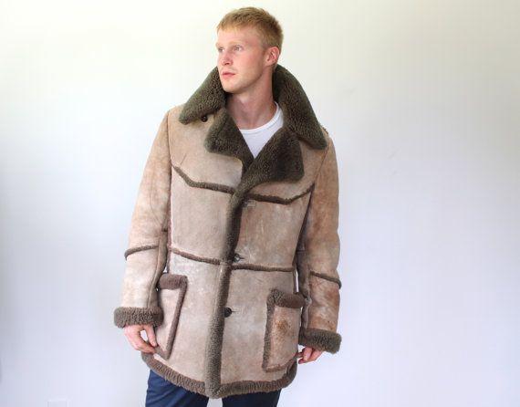 Image result for 1980s mens sheepskin coat | coats | Pinterest ...