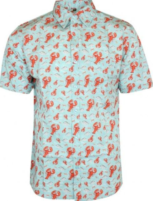 702428765 MEN'S RUN & FLY 50'S/60'S RETRO/VINTAGE/HAWAIAN LOBSTER PRINTED SHIRT |  Clothes, Shoes & Accessories, Men's Clothing, Casual Shirts & Tops | eBay!