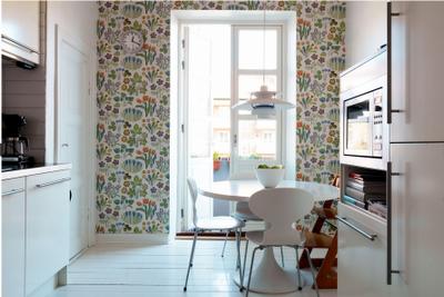 beautiful wall paper - Svensk Tenn?