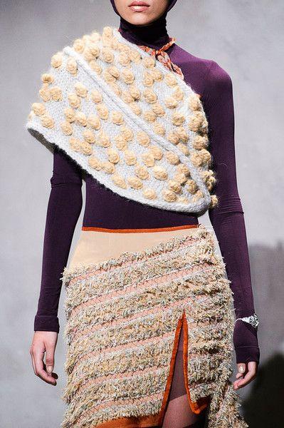 Antonio Ortega at Couture Fall 2015 (Details)